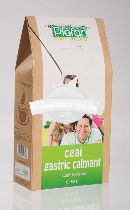CEAI GASTRIC CALMANT 50gr PLAFAR Tratament naturist afectiuni gastro-intestinale gastrita acuta ulcer gastric si duodenal