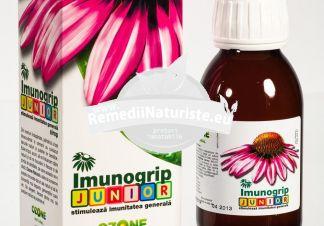 IMUNOGRIP JUNIOR 100ml OZONE NATURALES Tratament naturist stimulator imunitar general imunitate convalescenta