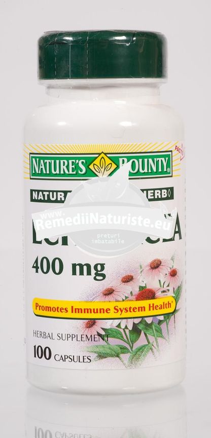 ECHINACEEA 100CPS N.B. WALMARK Tratament naturist intarirea sistemului imunitar imunitate scazuta