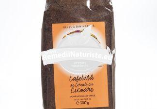 CAFELUTA DE CEREALE SI CICOARE CU AROMA VANILIE PUNGA 300gr SOLARIS Tratament naturist inlocuitor de cafea uz alimentar inlocuitor de cafea