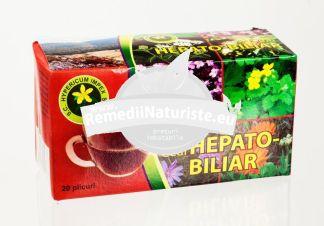 CEAI HEPATO-BILIAR 20dz HYPERICUM Tratament naturist in afectiuni ale ficatului si vezicii biliare insuficienta biliara colecistita subacuta si cronica ciroza hepatica