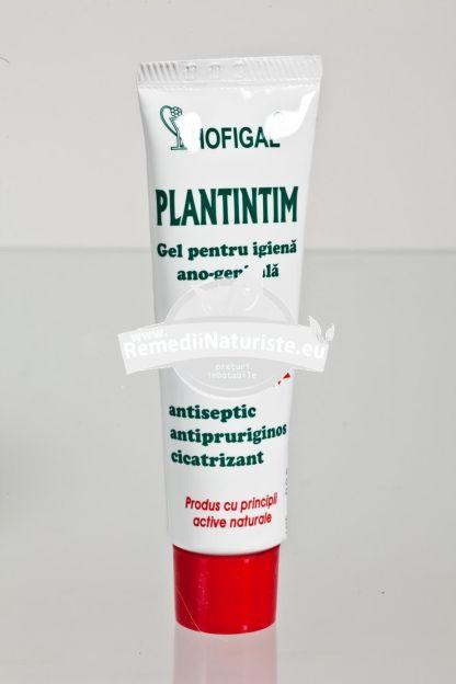 PLANT INTIM GEL 50ml HOFIGAL Tratament naturist gel igiena intima leucoree prurit antiinflamator