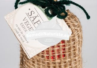 SAPUN EXFOLIANT 100GR MANICOS(fabricat manual) Tratament naturist indeparteaza celulele moarte efect nutritiv emolient nutritiv