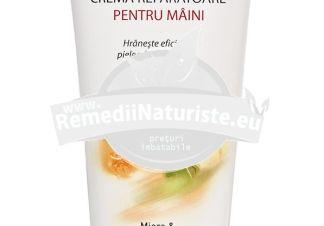 CREMA REPARATOARE PENTRU MAINI 100ml ELMIPLANT Tratament naturist piele foarte uscata nutritiva hidratanta protejeaza si repara pielea