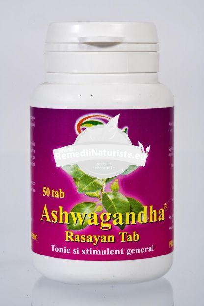 ASHWAGANDA 50tb STAR INTERNATIONAL Tratament naturist tonic general oboseala stres anxietate