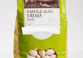 FASOLE ALBA URIASA 500g LONGEVITA Tratament naturist produs ecologic