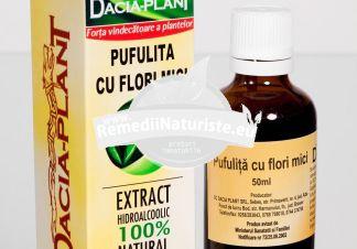 TINCTURA PUFULITA 50ML DACIA PLANT Tratament naturist boli ale prostatei prostatita adenom de prostata cancer de prostata