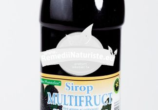 SIROP MULTIFRUCT 500ml HYPERICUM Tratament naturist vitaminizant mineralizant revigoreaza si tonifica organismul imunitate