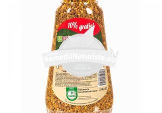 POLEN GRANULE 220gr QUANTUM PHARM Tratament naturist denutritie proteica afectiuni hepatice digestive tonic general
