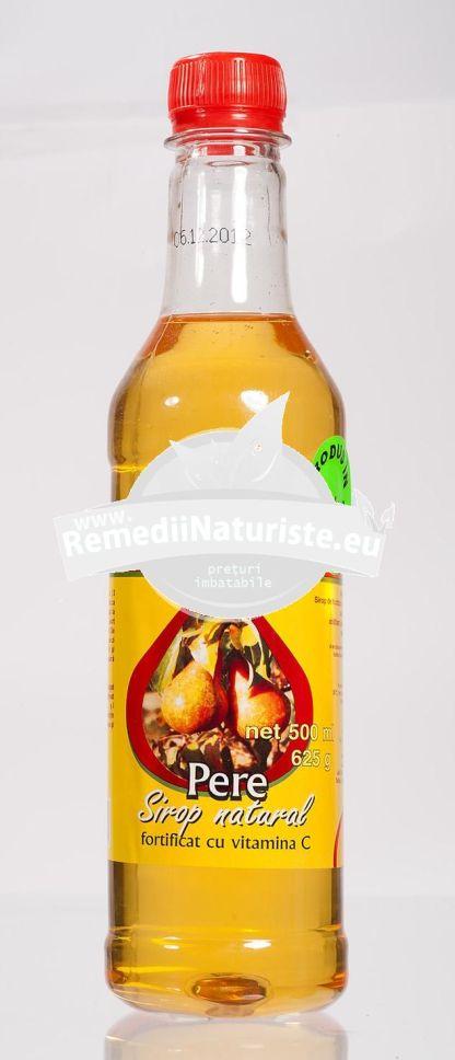 SIROP NATURAL PERE 500ml (620g) ADVENTURE IMPORT-EXPORT Tratament naturist uz alimentar minerale oligoelemente vitamine
