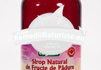SIROP NATURAL FRUCTE PADURE 750ml (975g) ADVENTURE IMPORT-EXPORT Tratament naturist uz alimentar