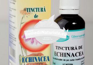 TINCTURA ECHINACEEA 50ml SANTO RAPHAEL Tratament naturist viroze bronsite gripa cistite