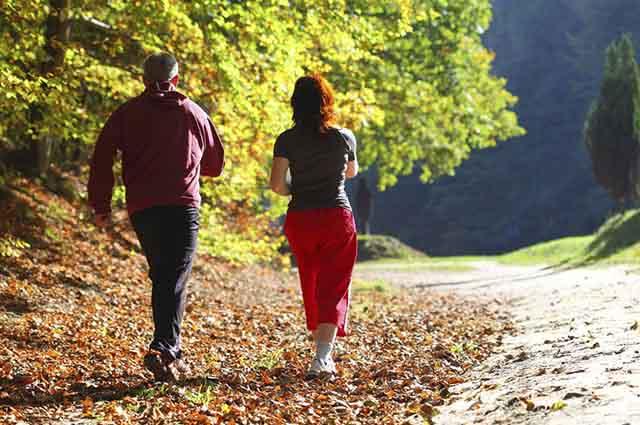 A caminhada traz uma série de benefícios para o organismo