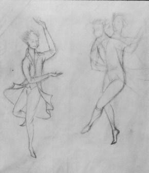 Ritos Extraños (Dibujo Previo I), 1959.