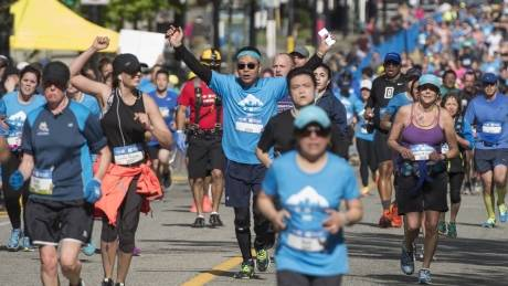BMO Vancouver Marathon finishers