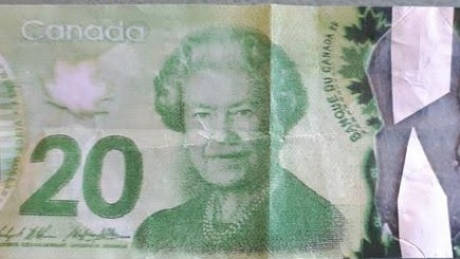 Fake $20 Real $20 Abbotsford Police department