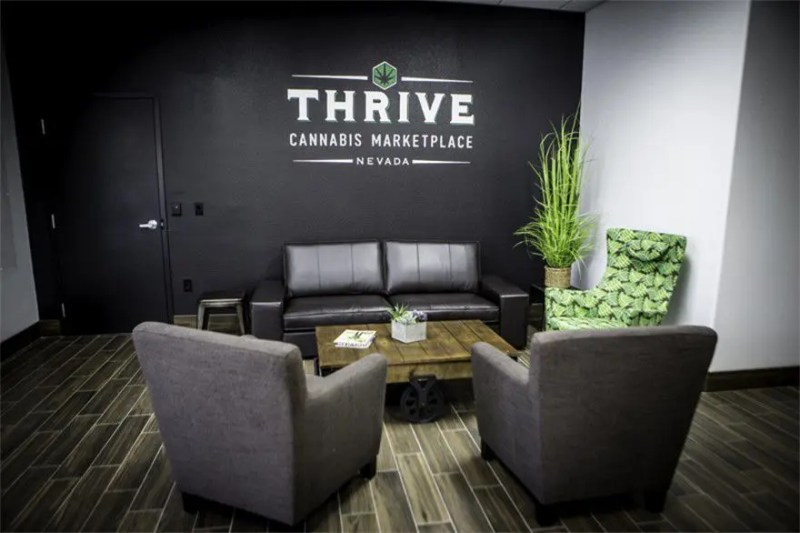 thrive lounge area