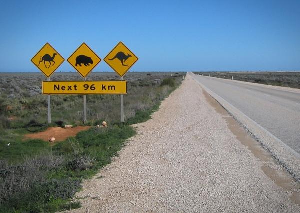 Nullabor Road Animal Signs