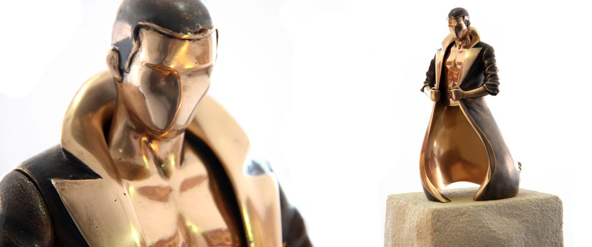 Josef Power - Esculturas de bronce - Escultor Remigio Vidal
