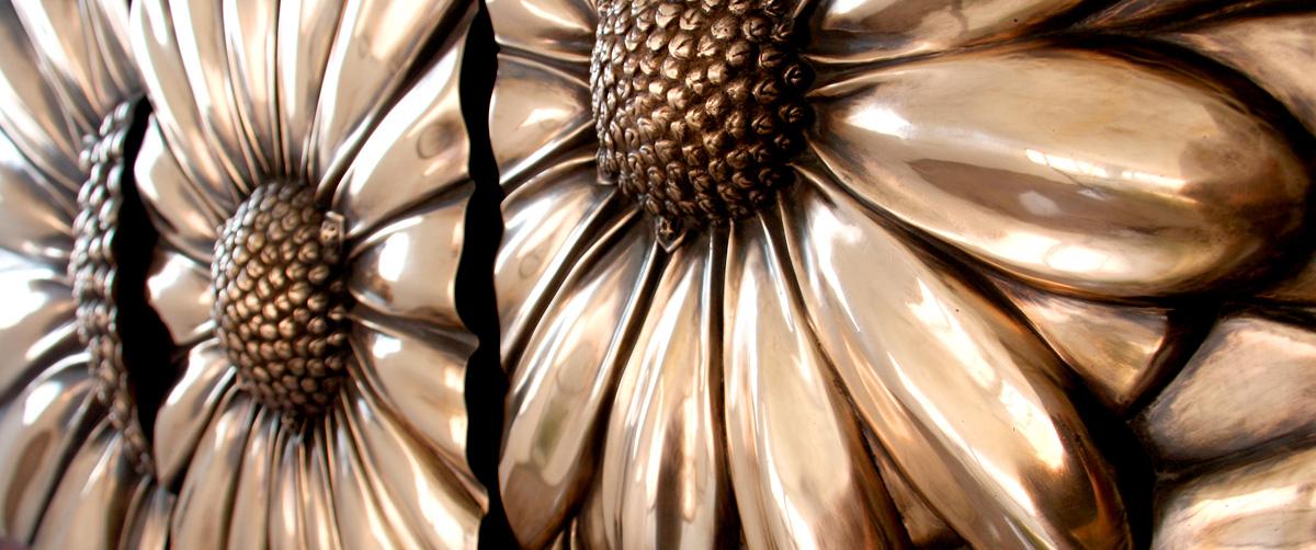 Margaritas - Esculturas de bronce - Escultor Remigio Vidal