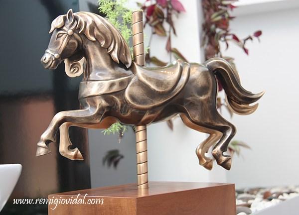 Duality - Escultura de fundición en bronce - Escultor Remigio Vidal