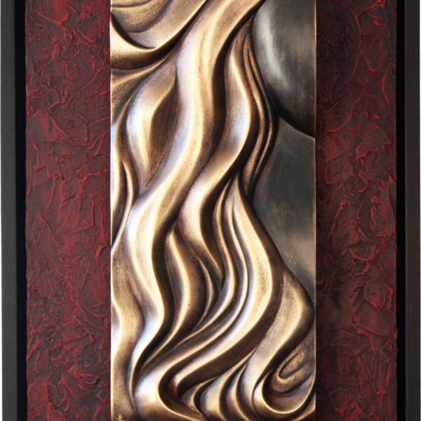 Mujer - Escultura de fundición de bronce - Escultor Remigio Vidal 01