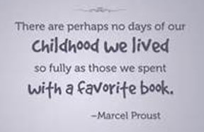 childhood and books
