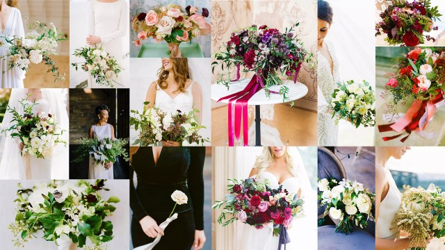 From Crimson Red Blooms To Festive Greenery: Gorgeous Winter Wedding Bouquets Ideas