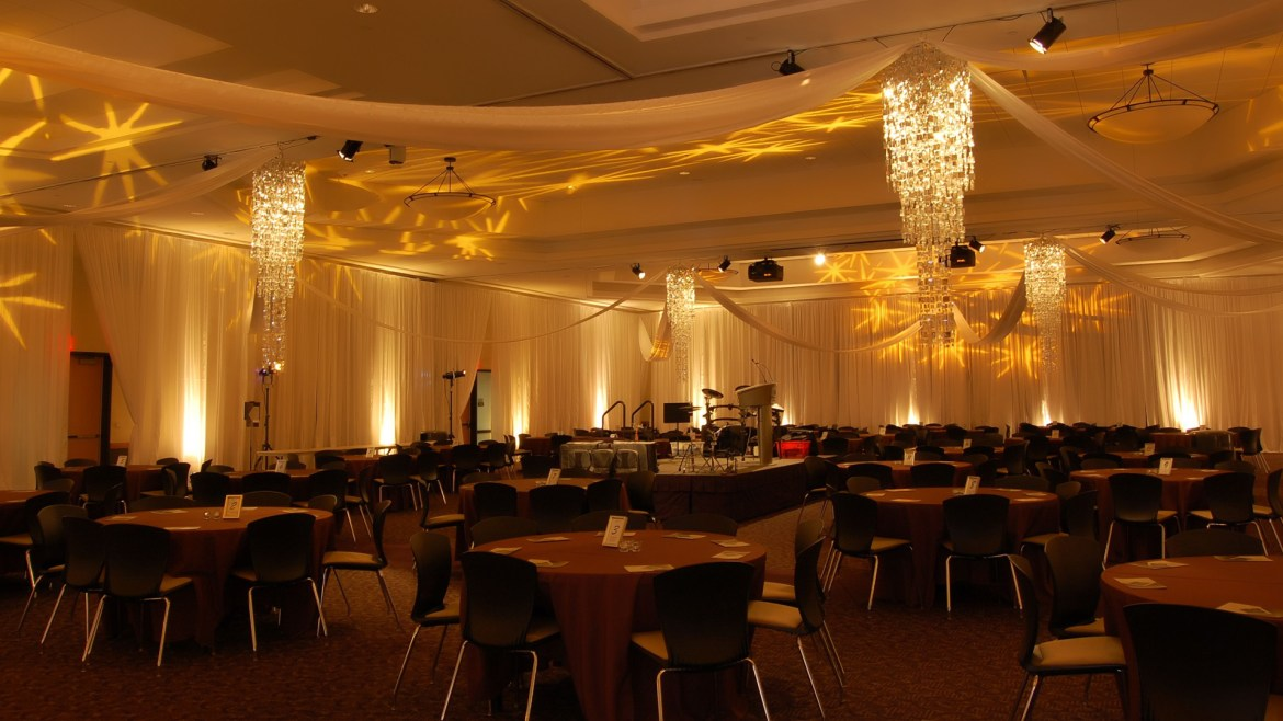 Everything You Need To Know About Uplighting For Your Wedding