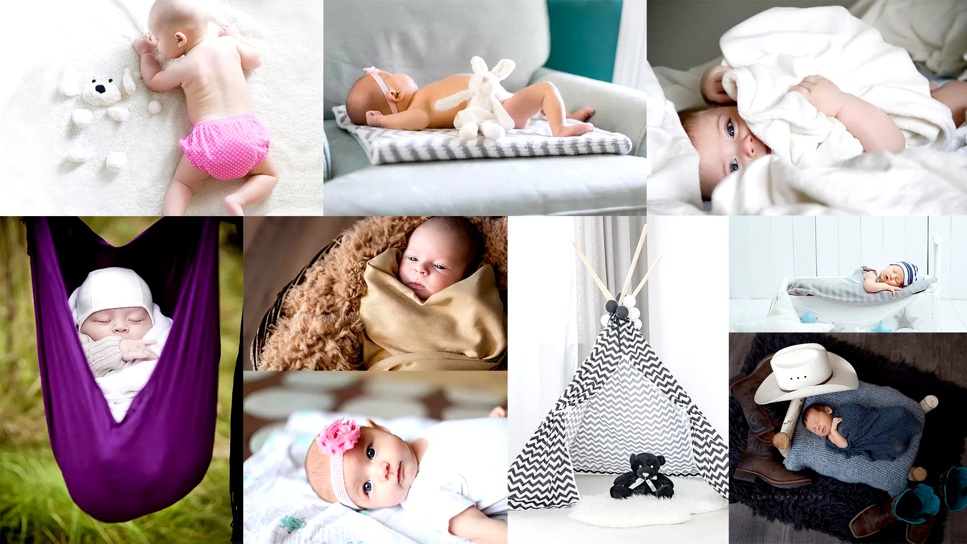 12 Adorable Ideas For Newborn Photography Props