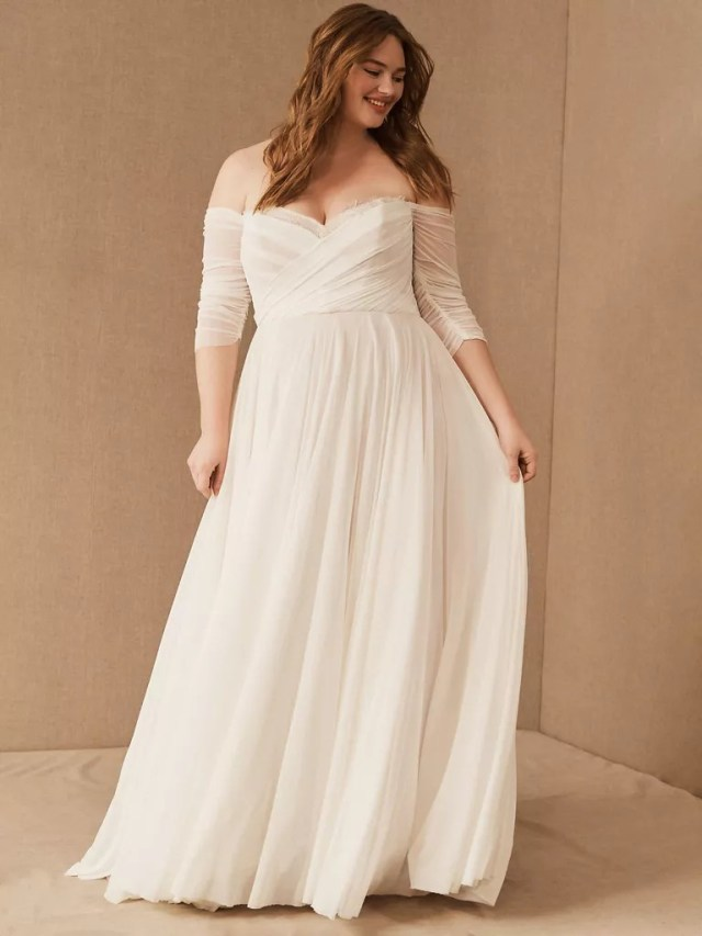 From Grand Ball Gowns To Sultry Slip Dresses: 20 Most Beautiful Plus-Size Bridal Dresses For The Most Gorgeous Brides