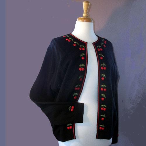 50's sweater classic cardigan
