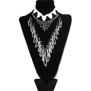 southwest beaded necklace-remix vintage fashion