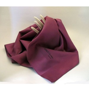 designer silk purple