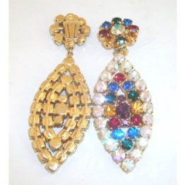 earrings women jewelry rhinestone zi rhinstone drop givenchy s crystal silk dillards gold accessories c