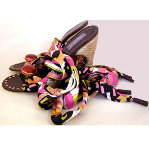 designer sandal emilio pucci