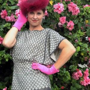 flapper art deco beaded top - Remix Vintage Fashion