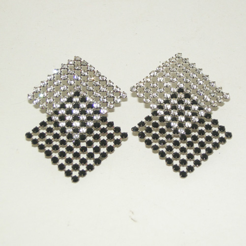 80s glam rock clip earring - remix vintage clothing