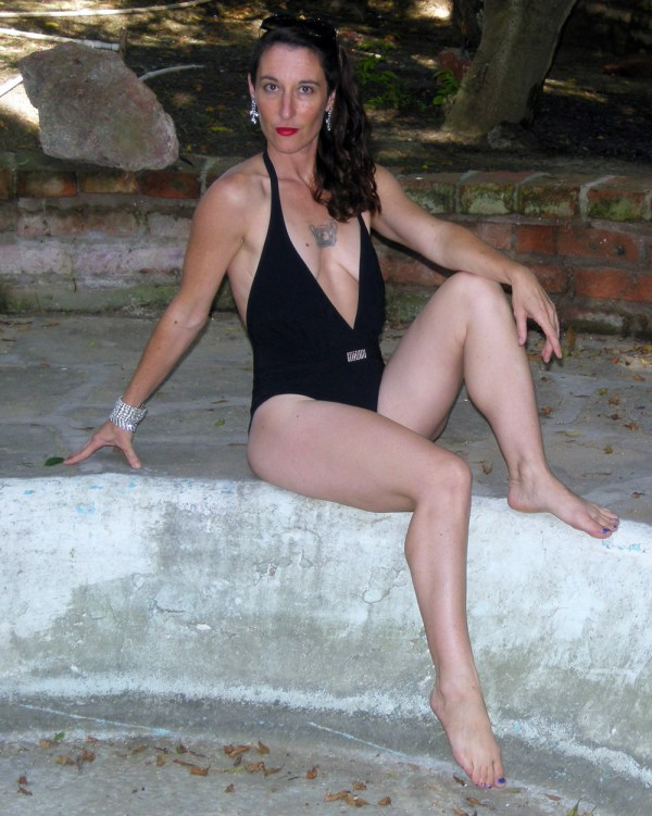 Gottex swimsuit 80s designer-he Remix Vintage Fashion