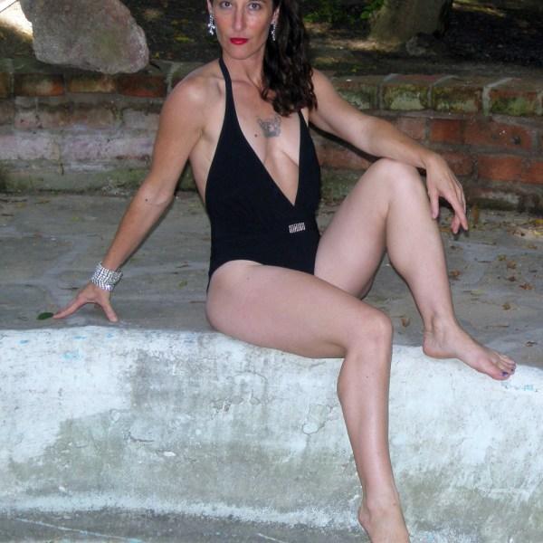 Gottex swimsuit 80s designer-he Remix Vintage Fashion