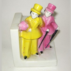 Japan figurines art deco home decor-remix vintage fashion