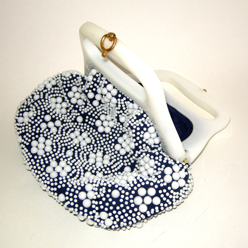 60s beaded purse-the remix vintage fashion
