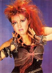 80s fashion cyndi lauper-the remix vintage fashion