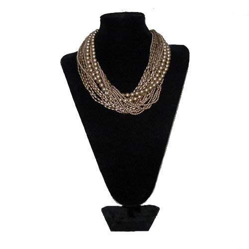 carolee gold multistrand necklace-the remix vintage fashion