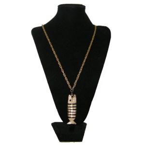 celebrity fish pendant necklace-the remix vintage fashion