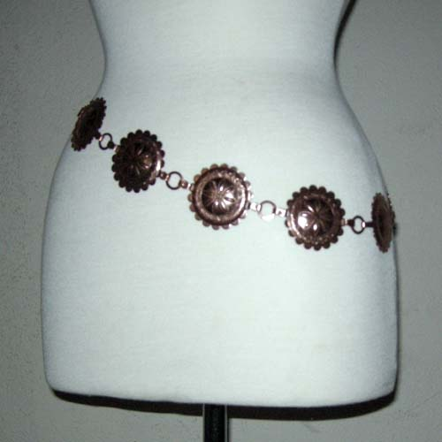 concho copper belt native american-the remix vintage fashion