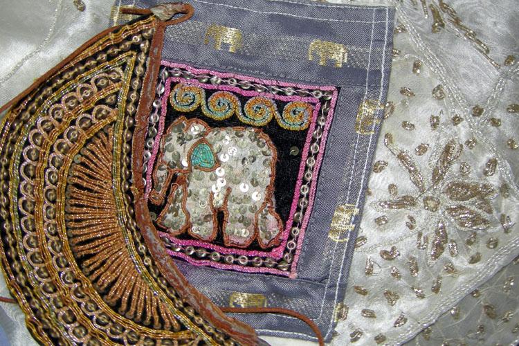 indian textile arts upcycle-the remix vintage fashion