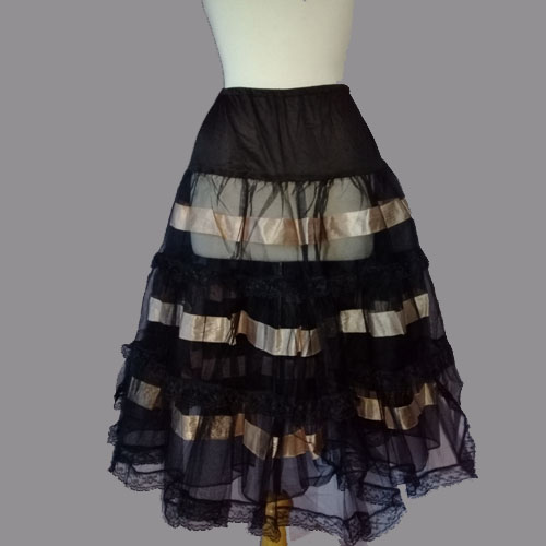 black crinoline tulle rockabilly pinup 50s style-the remix vintage fashion