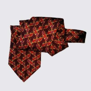 Valentino tie 80s mens designer-the remix vintage fashion