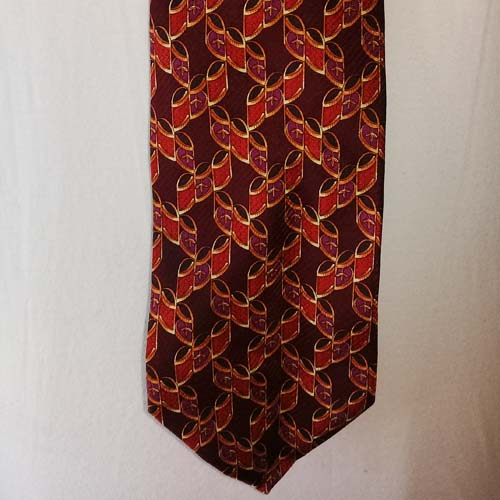 Valentino tie 80s mens designer-the remix vintage fashion